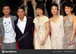 Left Chinese Actors Wen Zhang Jet Director Xue Xiaolu Taiwanese – Stock  Editorial Photo © ChinaImages #244493778