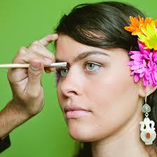blood free makeup frida kahlo brows 600c600