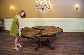 round dining table with leaves to seat 8 large round to round dining jupe table