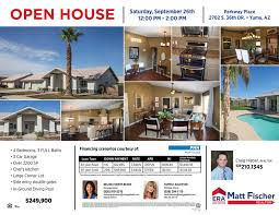 realtor open house flyers upcoming open houses era matt fischer realtor real estate yuma