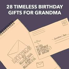 birthday present for grandma gifts from granddaughter diy 80th birthday present for grandma best gifts