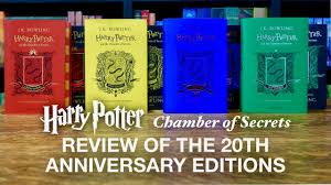 harry potter 20th anniversary house editions reviewed