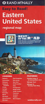 Easy To Read Eastern United States Regional Map Rand
