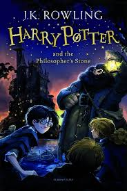harry potter and the philosopher s stone book cover bookriot