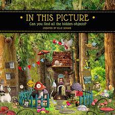 You can search for the hidden things as indicated in the worksheets and color or circle them in the pictures once you find them out. In This Picture Can You Find All The Hidden Objects Simms Elle 9781979061575 Amazon Com Books