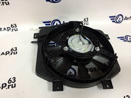 <b>Вентилятор</b> охлаждения <b>двигателя в сборе</b> на ВАЗ 2113, 2114 ...