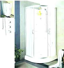 aqua glass tub blue curved glass steam shower enclosure with whirlpool bathtub 6 sprays aqua