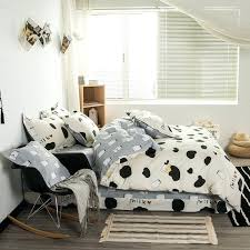 cow print bedding set sets twin