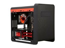 Fractal Design Arc Midi Black High Performance Pc Computer Case Diypc Cuboid R Black Red Usb 3 0 Gaming Micro Atx Mid Tower Computer Case W 1