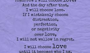 Quotes About Choosing Love Inspiration Quotes About Choosing Love Choose Love' 48Day Challenge Part 48