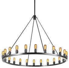 niche modern spark 60 modern chandelier brushed stainless with t14 bulbs