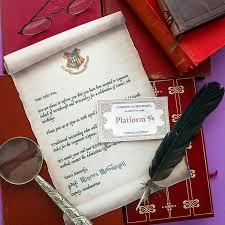 hogwarts acceptance letter harry potter party invitation mypoppet com au