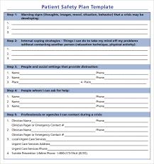 sample safety plan safety plan example rome fontanacountryinn com