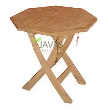 teak outdoor round salur fold table