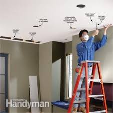 how to install recessed lighting for dramatic effect family handyman intended for installing pot lights in insulated ceiling