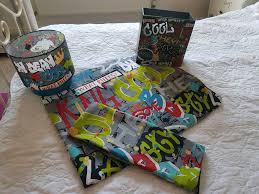 graffiti bedding set