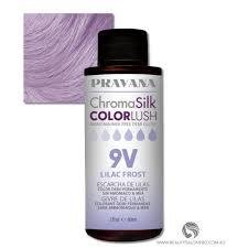 Pravana Chromasilk Colorlush 9v Lilac Frost Ammonia Free