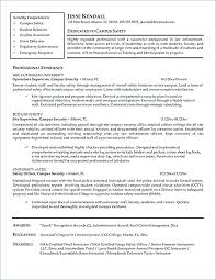 Resume For Police Officer Police Officer Resumes Police Officer Resume Examples Entry Level