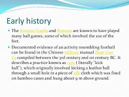 about soccer history essay about soccer history