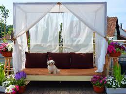 DIY Canopy Bed (outdoor) | Foxy Folksy