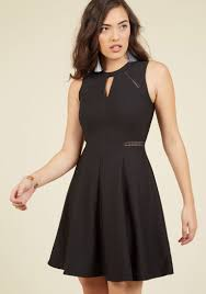 Moxie Must Have A Line Dress In Black Modcloth