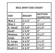 Bell Boot Size Chart Davis Bell Boots In Black