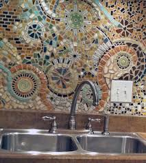 Mosaic Backsplash Idea