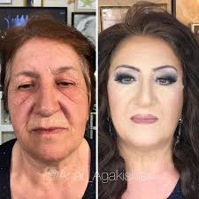 make up artist makes clients as old as 80 look decades younger shows just how powerful makeup is bored panda