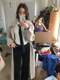 10 17 s ootd is a castiel cosplay i love my trench coat