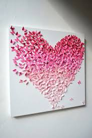 wall art ideas with paper decorate your home with cute erfly wall décor