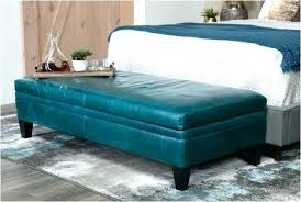 ottoman bedroom circle with storage elegant ottomans dark teal square chair of stunning leather and