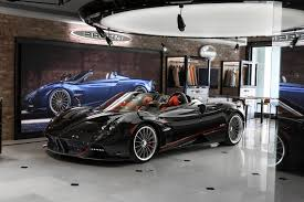 pagani zonda cs roadster fire city car