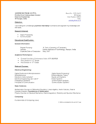 6 Format Of A Curriculum Vitae For A Student Actor Resumed