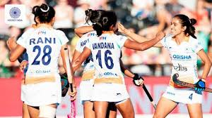 India Vs Spain 3rd Womens Hockey Match In Murcia Indian Side