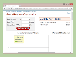 loan amortizing how to calculate amortization 9 steps with pictures wikihow