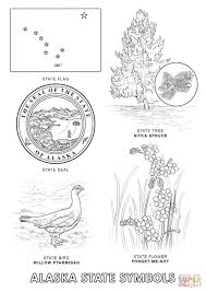 Small Picture Alaska State Symbols coloring page Free Printable Coloring Pages