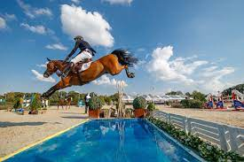 Jos Verlooy rijdt internationale jumping Riyad