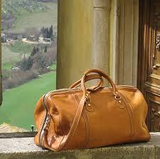 parma italian leather duffel bag