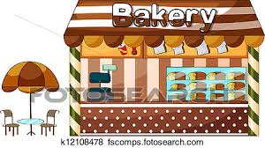 Bakery Store Clipart