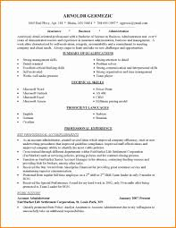 Resume Career Summary Examples Inspirational Career Change Resume