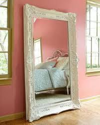 Innovation White Baroque Floor Mirror R On Modern Design