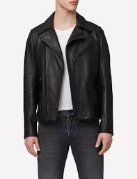 make a statement with this luxe biker jacket made of exclusive lamb nappa leather the jacket features assymmetrical zip closure and zip pockets