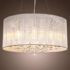 image of extra large drum lamp shade lighting