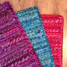 braided cotton chindi rugs