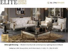 furniture store in Miami — Elite Light & Living