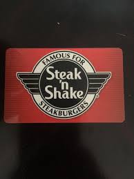 100 steak n shake gift card 1 of 1only 1 available see more