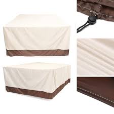 waterproof garden patio furniture cover outdoor rattan table uv dust rain proof protector cod