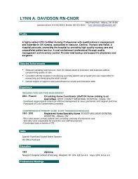 Nurse Educator Resume Examples Examples Of Resumes