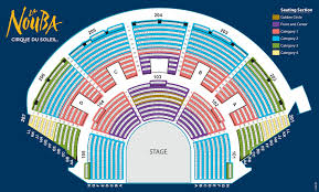 Mad Cow Theatre Seating Chart Walt Disney World General La Nouba Seating Chart