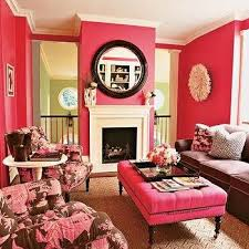 pink wall paintPink Walls Design Ideas